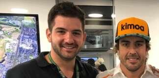 Miltos Soutzis Fernando Alonso McLaren