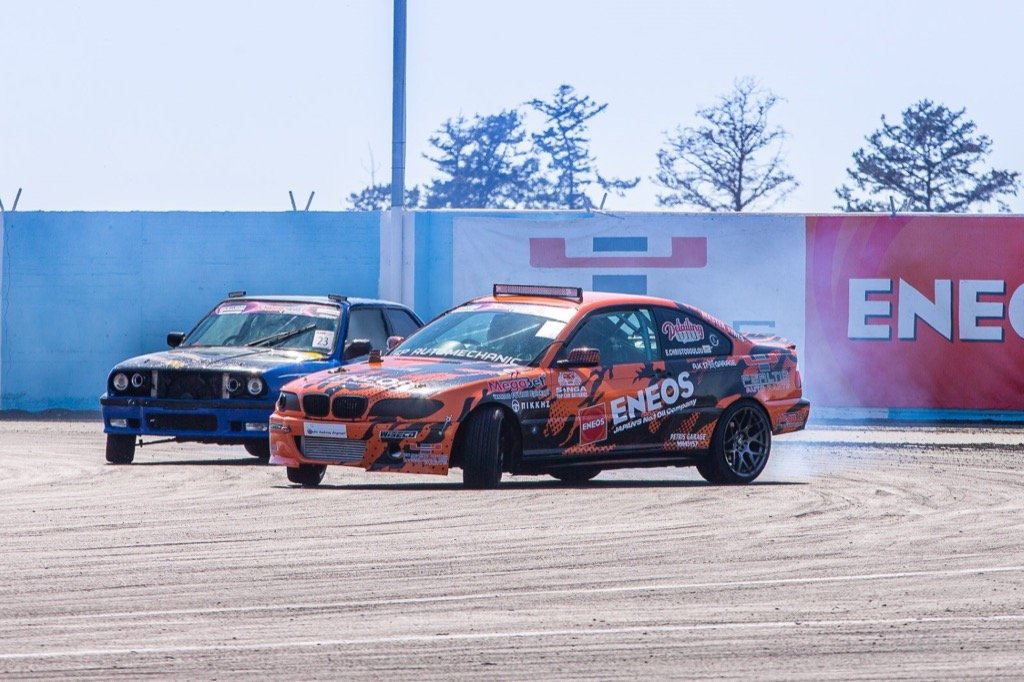 DRIFT 3rd Round psaltis eneos achna speedway
