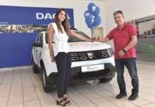 Dacia Duster Char Pilakoutas Stalo Pilakouta Dacia Cyprus LOUIS NIGHT SHOW