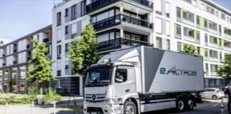 Mercedes-Benz eActros world premiere 2021