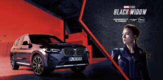 BMW CYPRUS CHAR PILAKOUTAS MARVEL BLACK WIDOW BMW X3