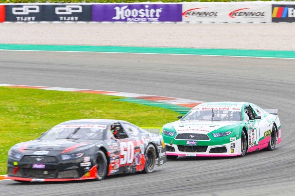 Round 2 VLADIMIROS TZIORTZIS NASCAR