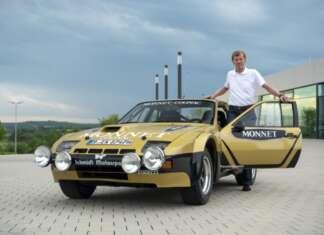 1981, Rally Hessen 924 Carrera GTS Rally with Walter Röhrl and Christian Geistdörfer.