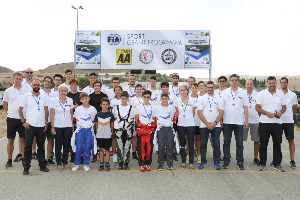 karting cyprus FIA Young Drivers Training Programme