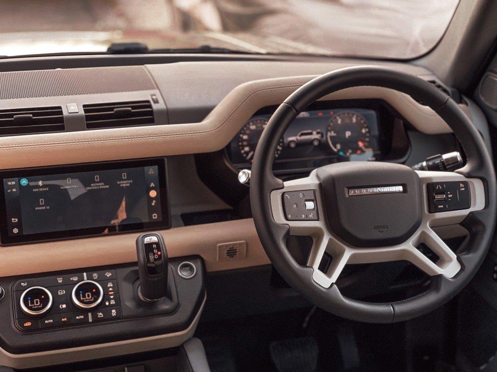 Land Rover Defender 110 S Miltos Soutzis Test Drive Cyprus Char Pilakoutas