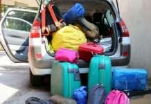 Συμβουλή: Φορτώστε… αλλά με μέτρο! Overloaded car