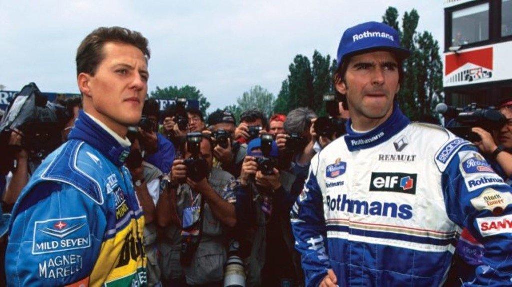 Michael Schumacher - DAMON HILL