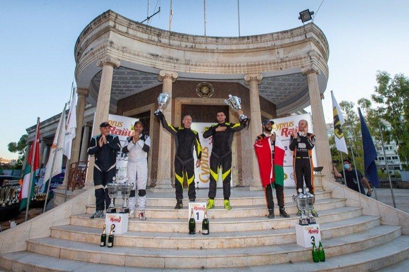 Cyprus Rally Finish alexandros tsouloftas