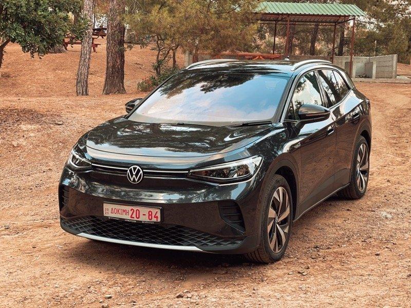 VW ID.4 MILTOS SOUTZIS TEST DRIVE AUTOKINITO.COM.CY - UNICARS VW CYPRUS