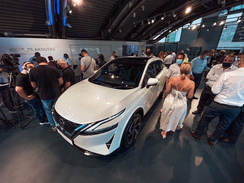 Nissan Qashqai Cyprus Char pilakoutas showcase 2021