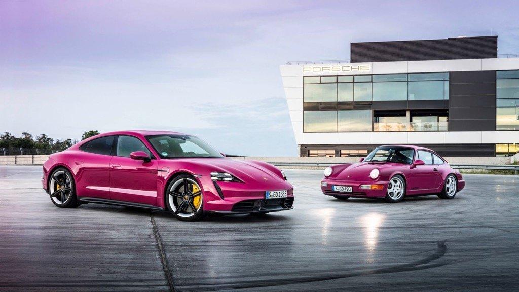 Porsche Taycan A.I MOTOKINISI CYPRUS