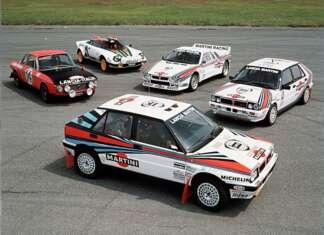 Lancia Rally Range