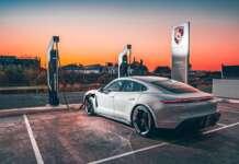 Porsche Turbo Charging Station Cyprus A.I Motokinisi ltd Porsche Center Cyprus