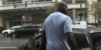 Shaquille O'Neal smart fortwo new york nba